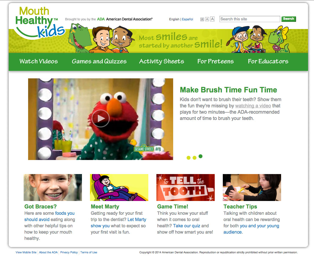 Activities & Games Help Kids Learn Good Oral Health Care
